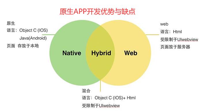 原生APP开发优势与缺点