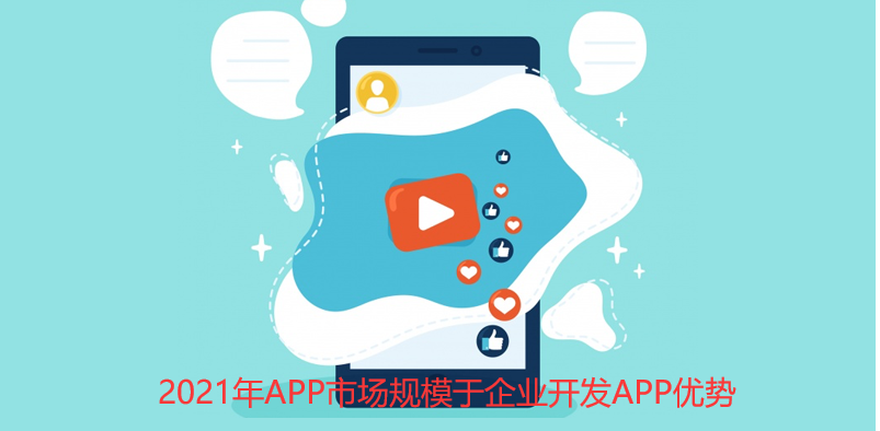 2021年APP市场规模与企业开发APP优势