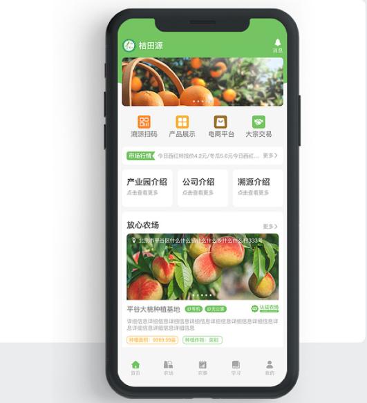 农业APP开发结合互联网+利用电商与智能化让农业规范化